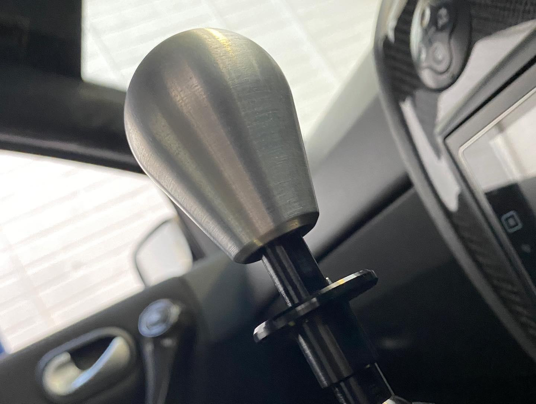 Ford Fiesta Mk6 ZeroPointOne Gearstick Extender and Gear Knob