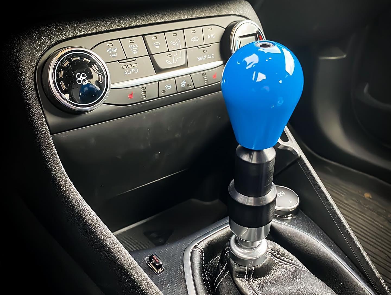 Renault Megane Mk2 ZeroPointOne Gearstick Extender and Gear Knob