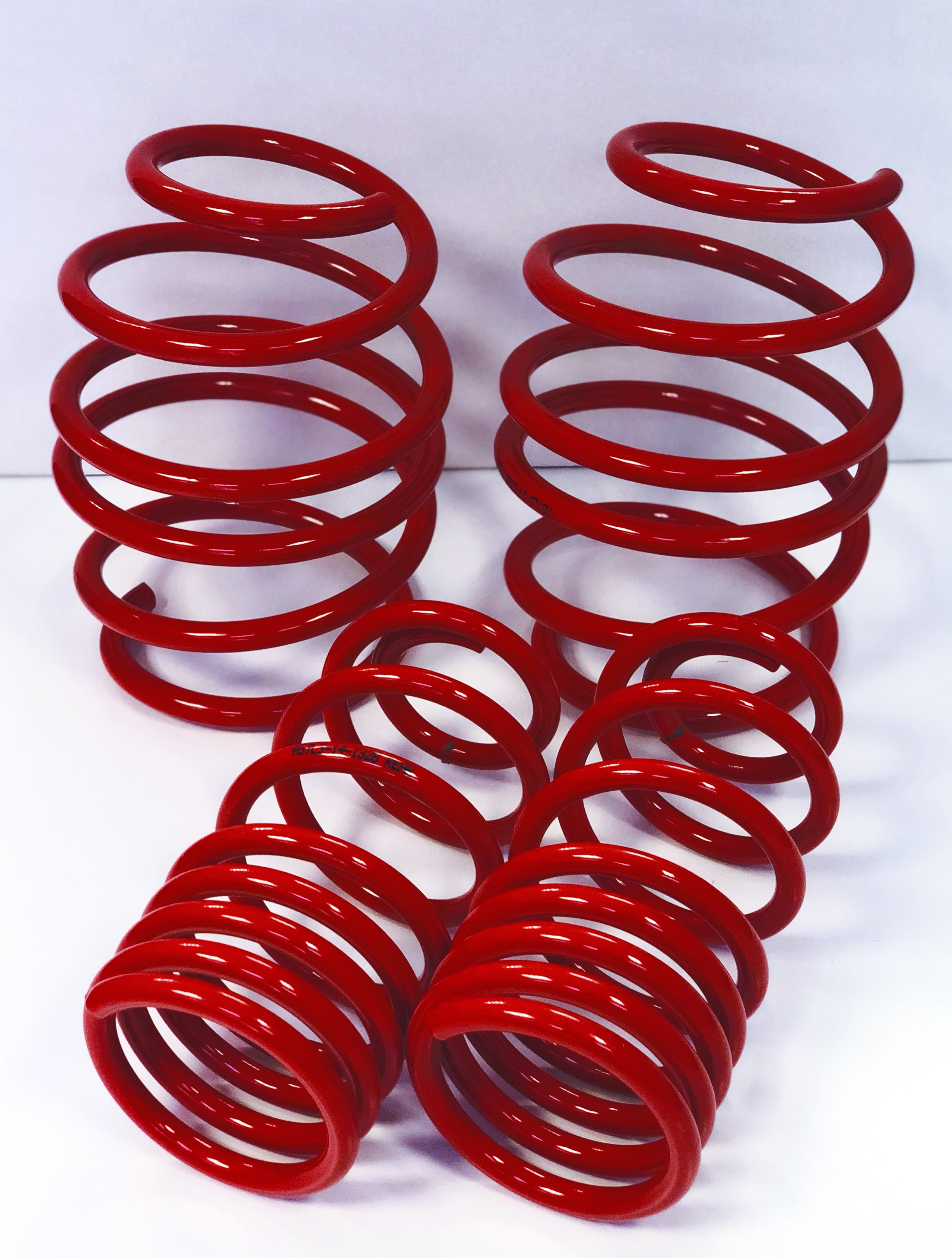Peugeot 207 AST Suspension Lowering Springs 35MM