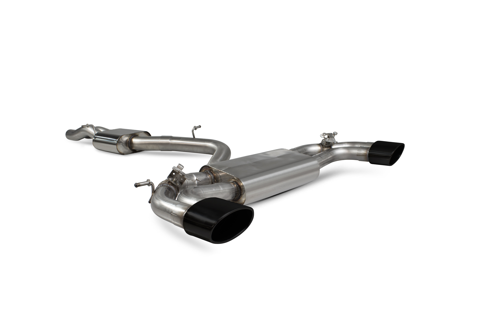 Scorpion Resonated cat-back system with electronic valves Audi RS3 Saloon 8V MQB (GPF and non GPF models) SAU083C