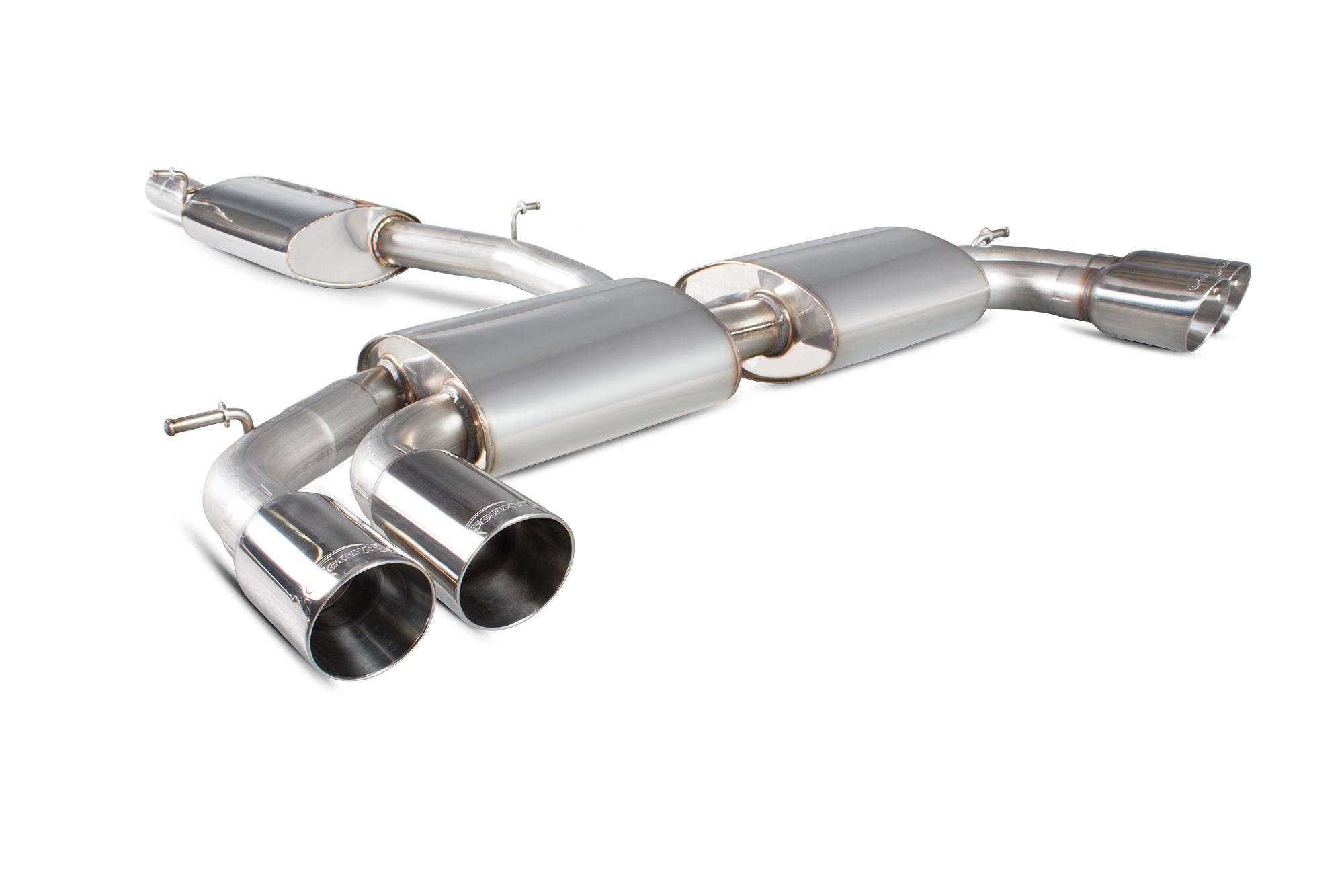 Scorpion Resonated GPF-back system with no valves Audi SQ2 SAU091