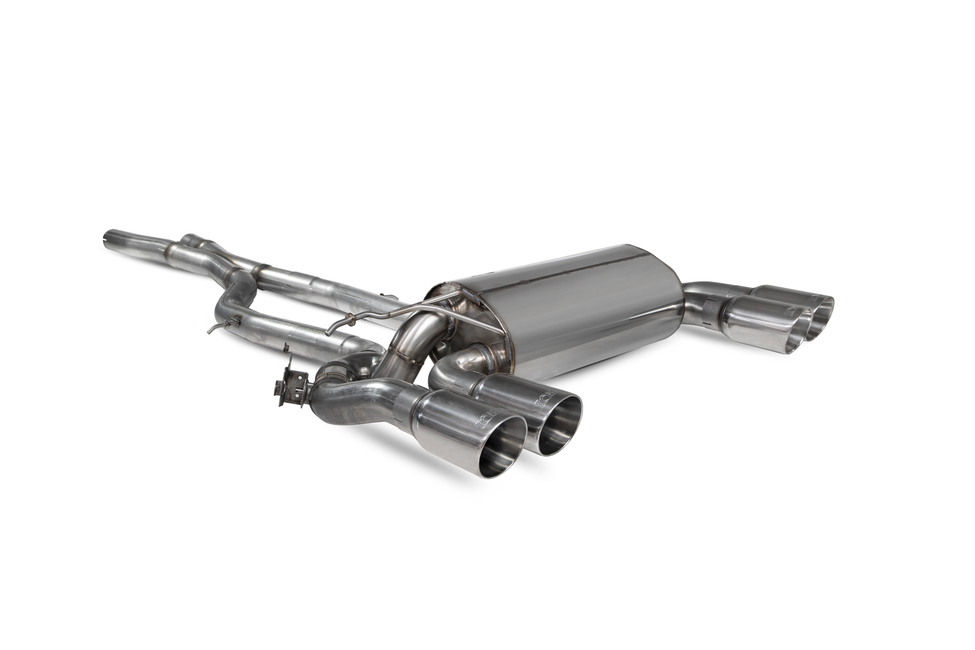 Scorpion GPF-back system with electronic valves BMW M2 Competition F87N SBMS081
