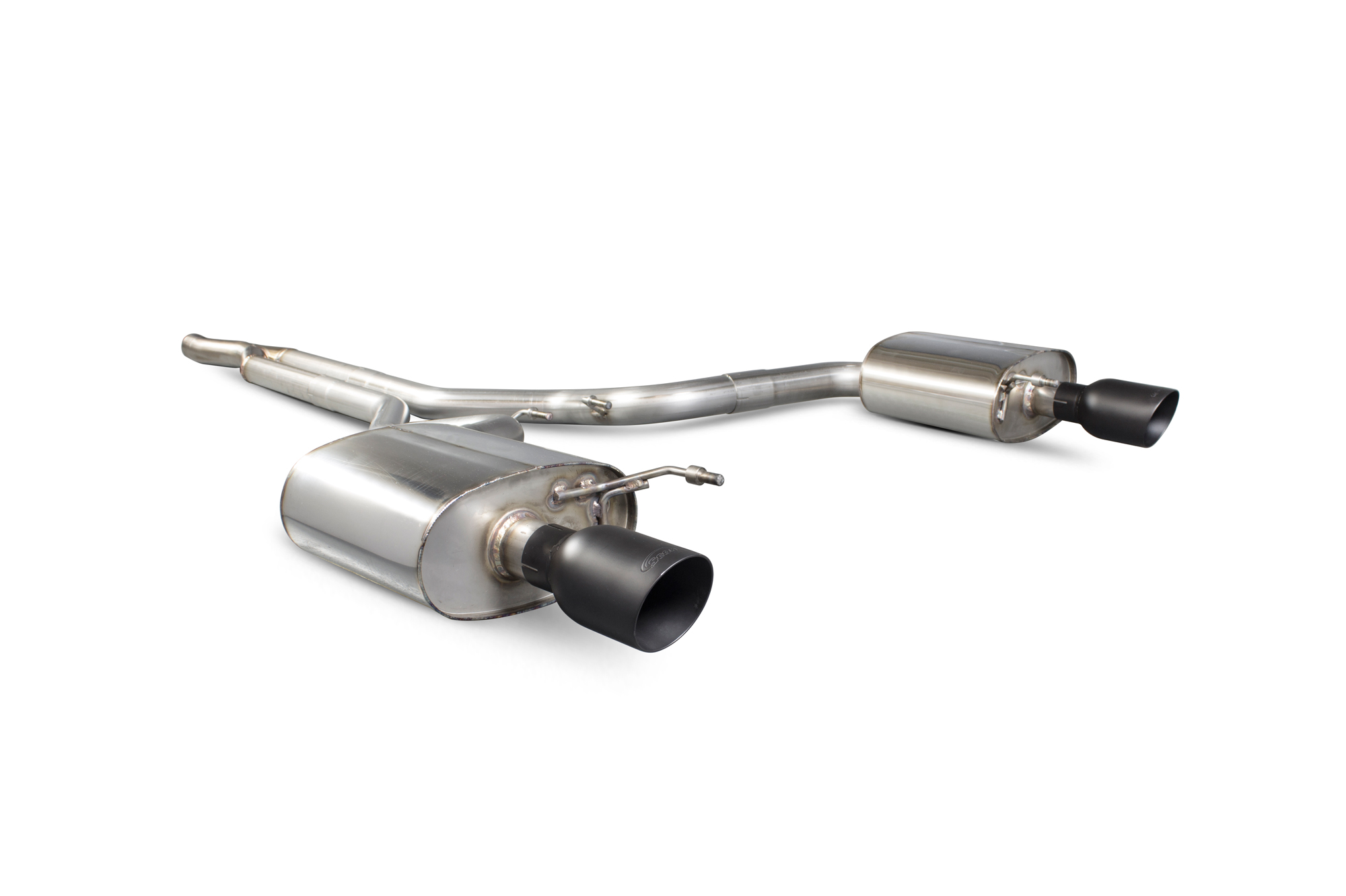 Scorpion Non-resonated cat-back system  Ford Mustang 2.3T Non GPF Model Only SFDS087C