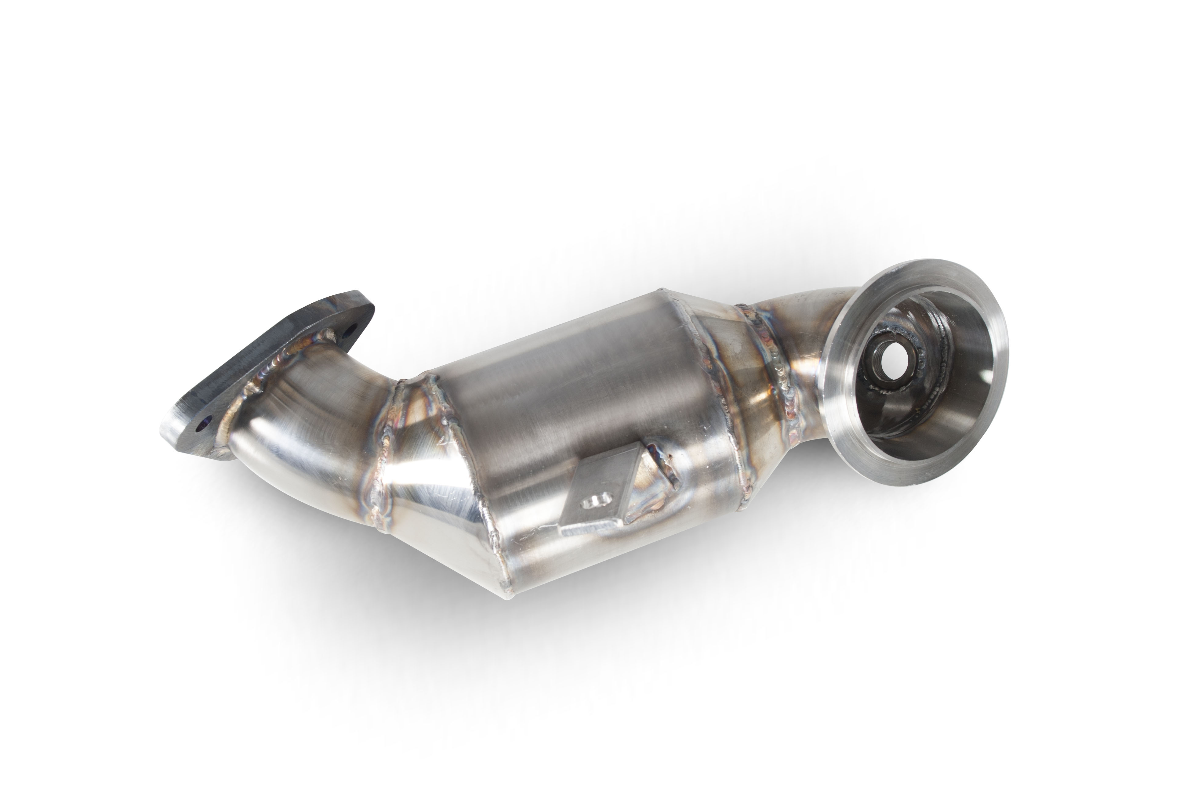 Scorpion Downpipe with a high flow sports catalyst  Vauxhall Corsa D 1.4 Turbo Black Edition/Astra GTC 1.4 Turbo SVXX058