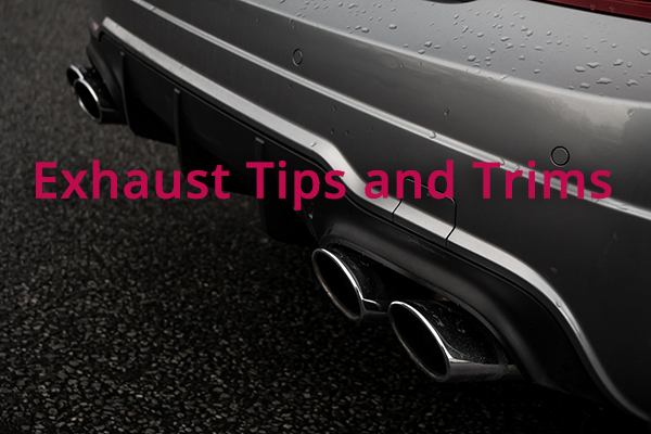 exhaust tips and trims
